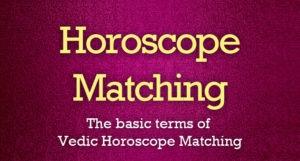 Horoscope Matching Basics