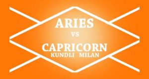 aries vs capricorn kundli milan