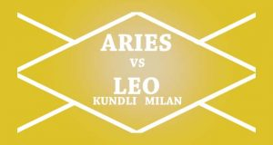 aries vs leo kundli milan