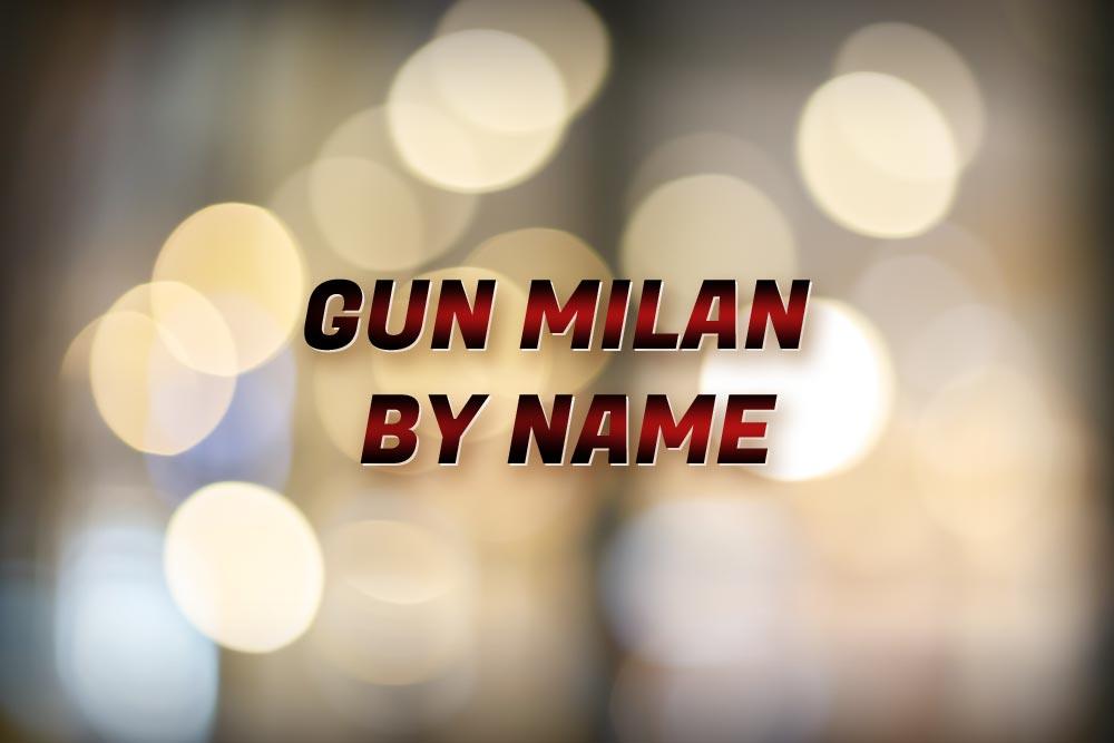 Gun Milan By Name Report