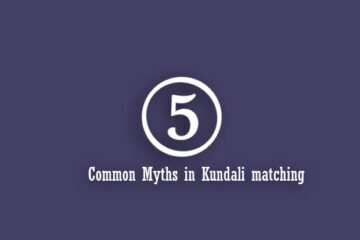 5 common myths in Kundali matching